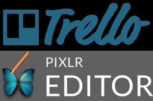 Trello and Pixlr